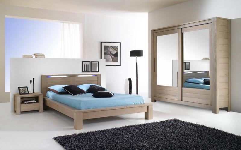 Dormitor mobila din lemn masiv RONEX