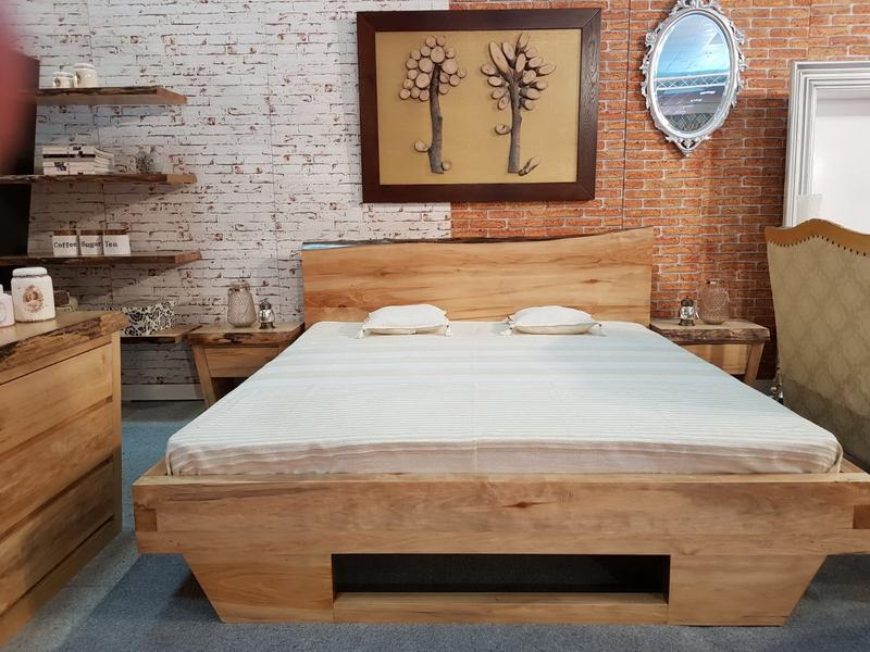 Frumusetea mobilei din lemn masiv